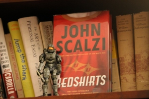 Master Chief - standing guard over Redshirts