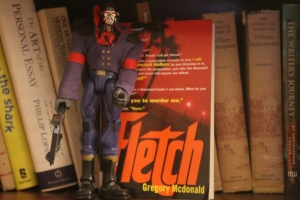 If you lived during the 80's, you'll remember Fletch.  Also, Destro.