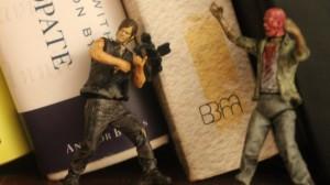 Daryl vs. a Zombie