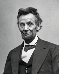 Tonight on Campaign 2016 News Coverage - Abraham Lincoln, the Great Emancipator.  Sure, he freed the slaves and held the union together - but can we really be expected to follow a man with a face that craggy?