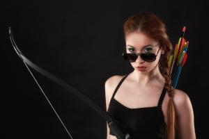 Tessa Fireswarm, heroine of the YA hit book series