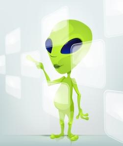 Alien Jones, Intergalactic Correspondent