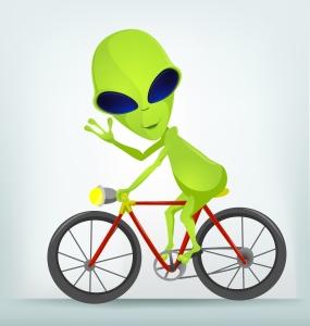The Road Trip Alien