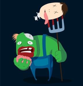 Zombie Farmer...E I E I...ARRRRGGHHH!!!