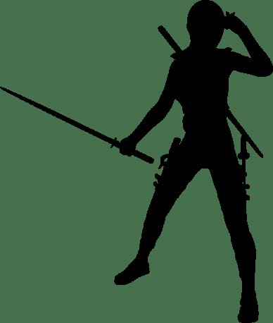 Female-Ninja-Silhouette-800px