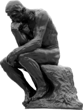 The-Thinker-Auguste-Rodin-Grayscale-800px