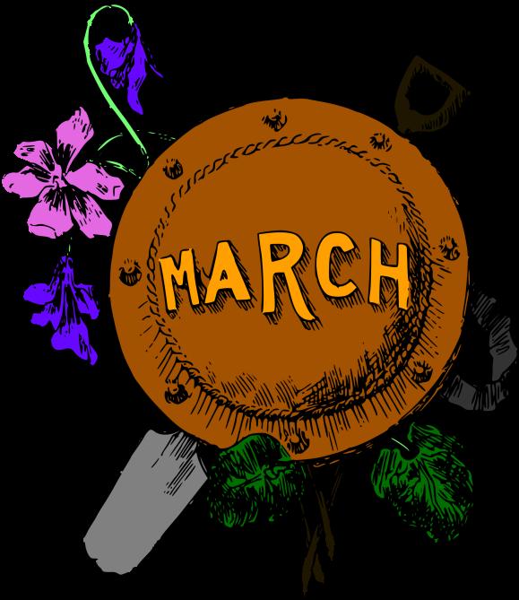 monthmarchcolour
